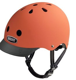 Nutcase Dutch Orange Matte Street Helmet S-M