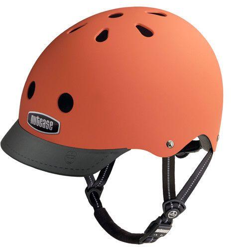Nutcase Dutch Orange Matte Street Helmet S-M