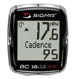 Sigma COMPUTER SIGMA BC 16.12 STS 2X WIRERLESS CADENCE