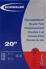 Schwalbe Tube Schwalbe SV7A, 28/37-438/451 20 x 1 1/8 - 1 3/8 IB 40mm, Presta