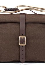 Brompton Brompton ROLL TOP BAG, WAXED CANVAS w/COVER & FRAME