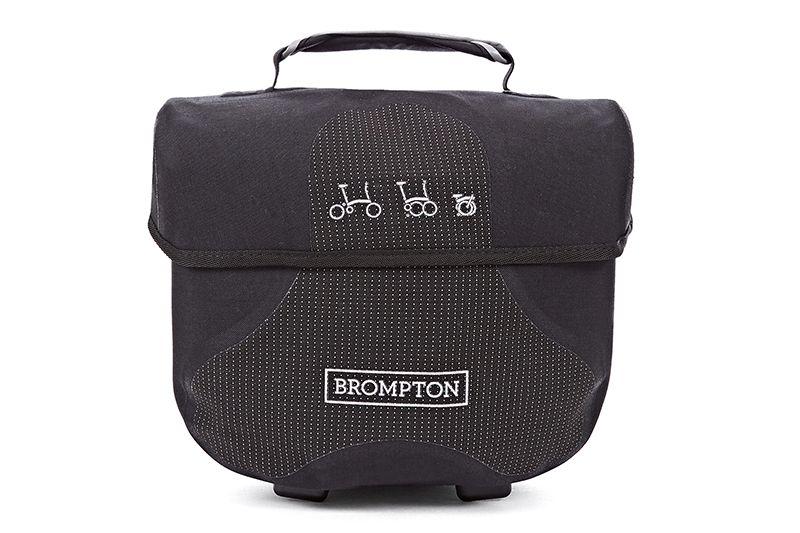 Ortlieb Brompton Ortlieb Mini O Bag, Reflective Black