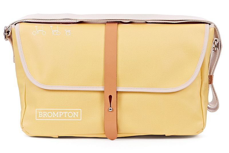 Brompton Brompton SHOULDER BAG, Yellow, C/W COVER & FRAME