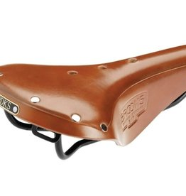 Brooks Brooks B17 Standard - Honey - Black Steel Rails