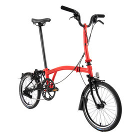 Brompton Brompton M6L-X Rocket Red/Black Black Edition Superlight, 2020