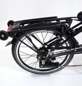 Brompton Brompton Rear Carrier (Rack) Complete with Fender, Rollers, Bungees