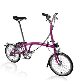 Brompton Brompton M3L Berry Crush, -12% Reduced Gearing