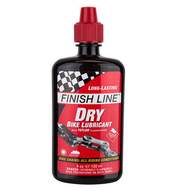Finish Line Dry Lube w/ Teflon 4oz Drip Bottle