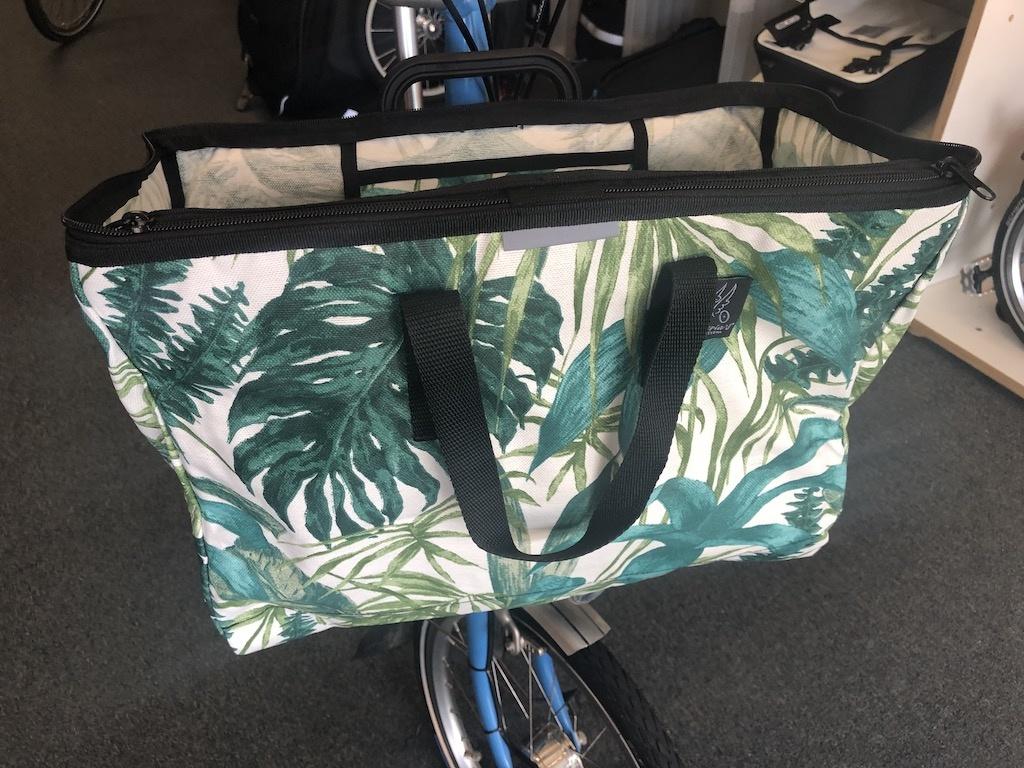 Brompton Valeria's Folding Basket for Brompton Style 3