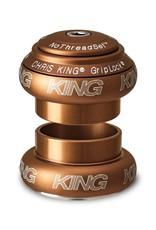 "Chris King Chris King NoThreadSet Headset, 1-1/8""  Matte Bourbon"