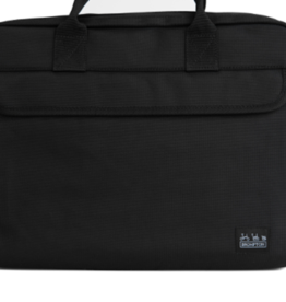 Brompton Metro City Bag Medium, Black, w/ Frame