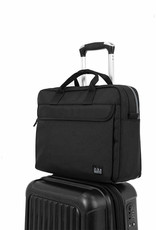 Brompton Metro City Bag Medium, Black, w/ Frame