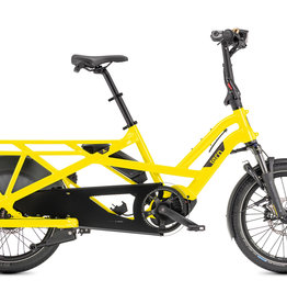 Tern Tern GSD V2 S10 LX Cargo Bike, 500Wh, School Bus Yellow, Single Battery