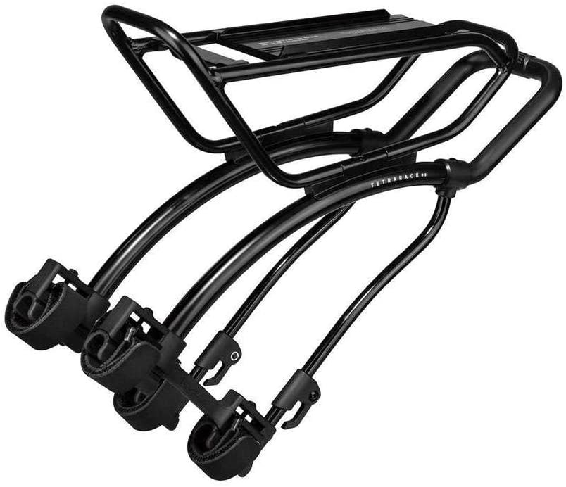 Topeak Topeak TetraRack R2 Rear Rack for Road- Seatstay Strap Mount, Black