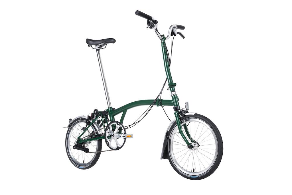 Brompton Brompton H6L Racing Green Folding Bike