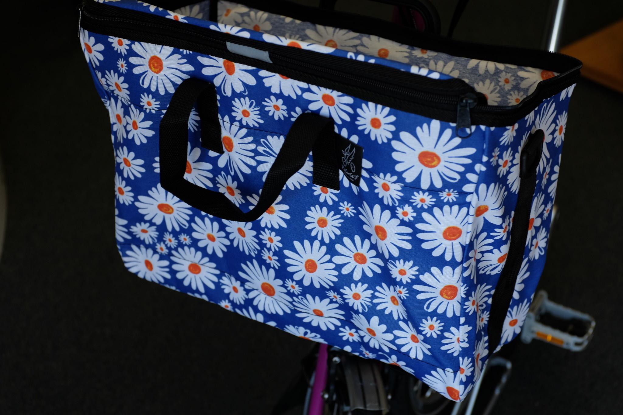 Brompton Valeria's Folding Basket for Brompton - Daisy