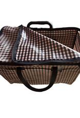 Brompton Valeria's Folding Basket for Brompton - Farcells Salmon