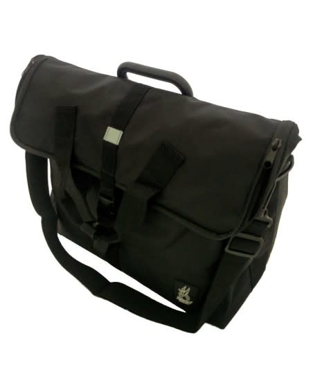 Brompton Valeria's Laptop Bag for Brompton - Black Nylon Office