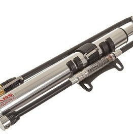 Lezyne Lezyne Micro Floor Drive HPG- High Pressure Analog Gauge Frame Pump, Silver
