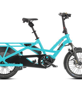 Tern Tern GSD V2 S00 LX Cargo Bike, 500Wh, Beetle Blue, Single Battery