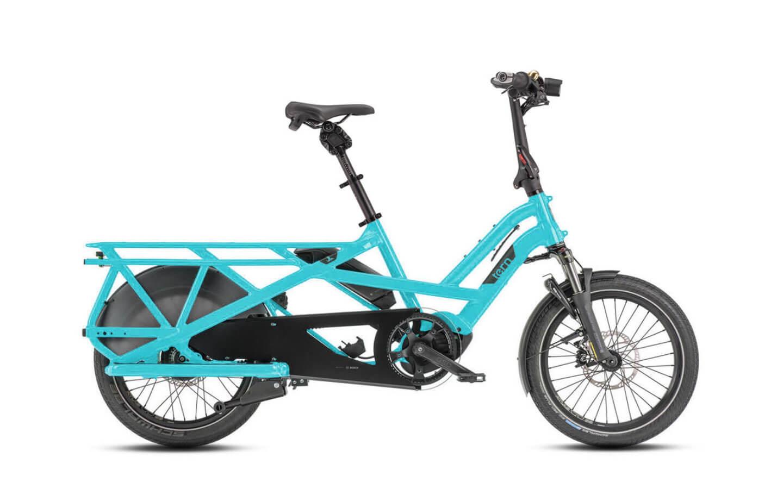 Tern Tern GSD V2 S00 LX Cargo Bike, 500Wh, Beetle Blue, Single Battery