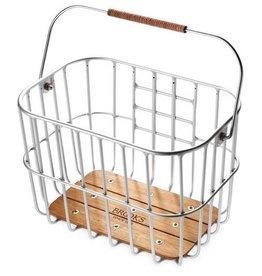 Brooks Hoxton Basket 25 liter, Aluminium, Klickfix Mounting