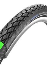 Schwalbe Marathon Tire 20x1.5 Wire Bead Black with Reflective Sidewall