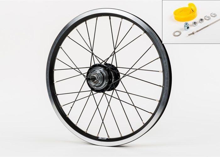 Brompton Brompton OEM 6-Speed Rear Wheel, Black Edition