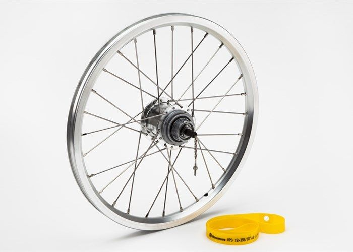 Brompton Brompton OEM 3-Speed Rear Wheel, Silver