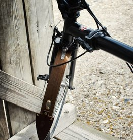 """Odin 16""""  Wooden Fenders for Brompton"""