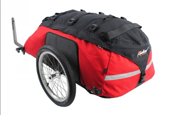 Radical Designs Radical Design Cyclone IV Trekking Trailer, Red/Black