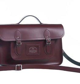 Brompton Cambridge Satchel Leather Front Bag for Brompton
