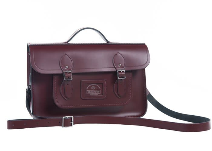 Brompton Cambridge Satchel Leather Front Bag for Brompton