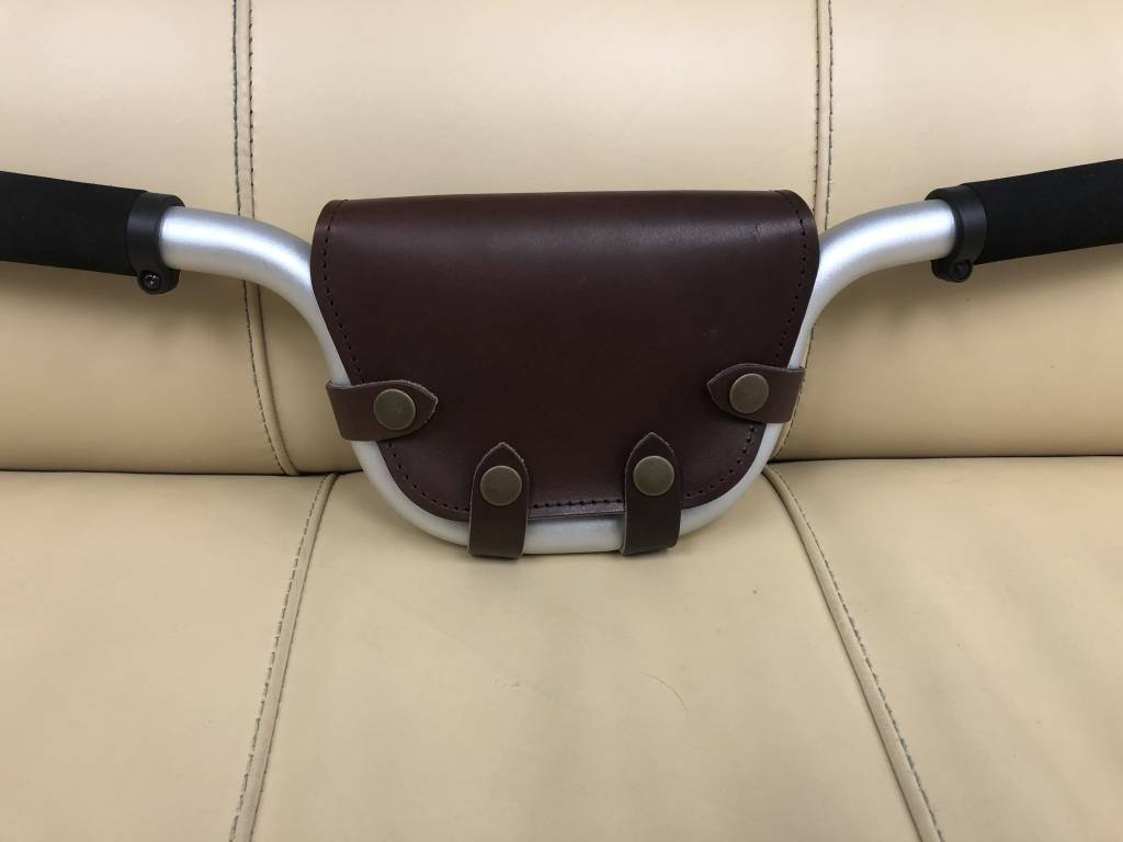 Souma Leather Handlebar Bag