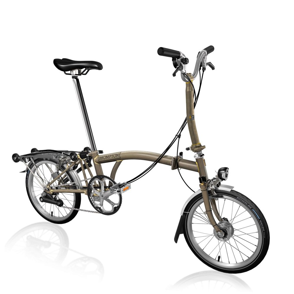 Brompton Brompton M6R Raw Shimano Dynamo Lighting