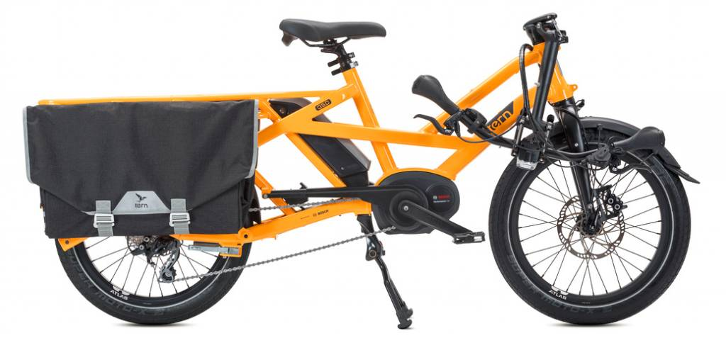 Tern Tern GSD S00 Cargo Bike, 500Wh, Canary Yellow, Single Battery