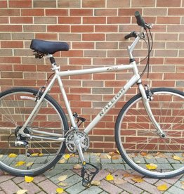 "Raleigh 23"" Raleigh C40 Silver"