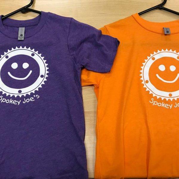 Spokey Joe's Logo Gear Spokey Joe's Smiley Kids Tee, Orange