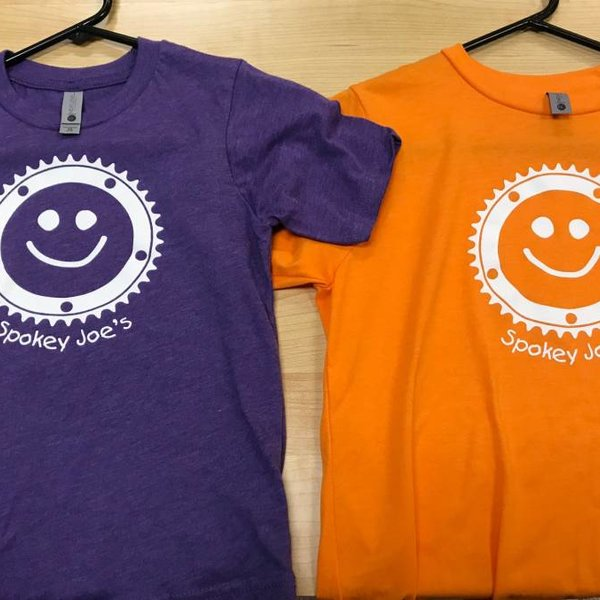 Spokey Joe's Logo Gear Spokey Joe's Smiley Kids Tee, Purple