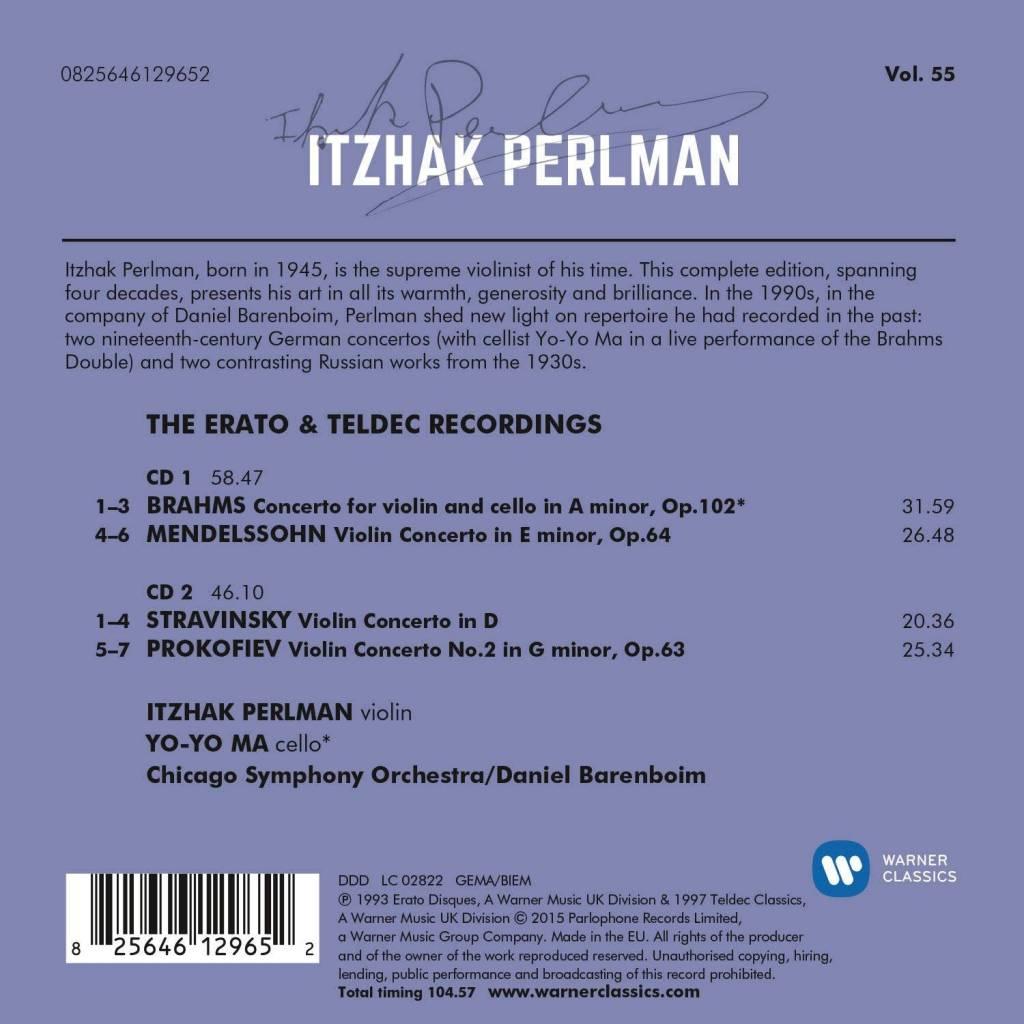 Symphony Store - CD - Brahms: Double Concerto, Mendelssohn: VC