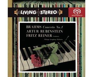 SACD Brahms: PC 1, Reiner/Rubinstein/CSO