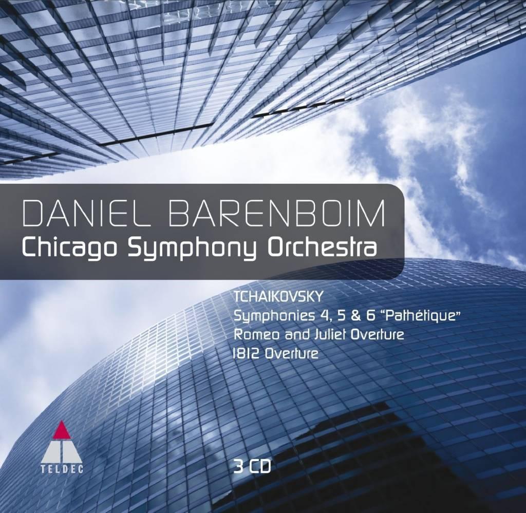 Symphony Store - CD - Tchaikovsky: Sym  4-6, Romeo and Juliet, 1812  Overture, Barenboim/CSO