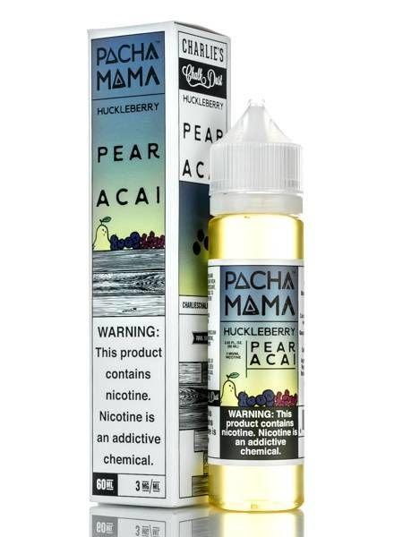 Pachamama Huckleberry Pear Acai 60ml