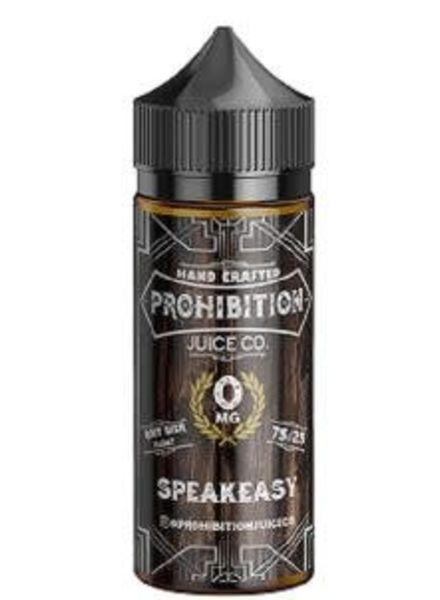Prohibition Juice Co. Speakeasy 100ml