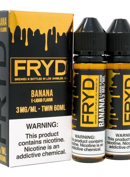 FRYD E-Liquids FRYD Eliquid Banana 120ml