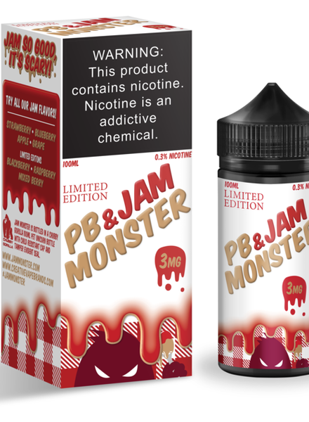 Jam Monster Liquids Strawberry PB & Jam 100ml
