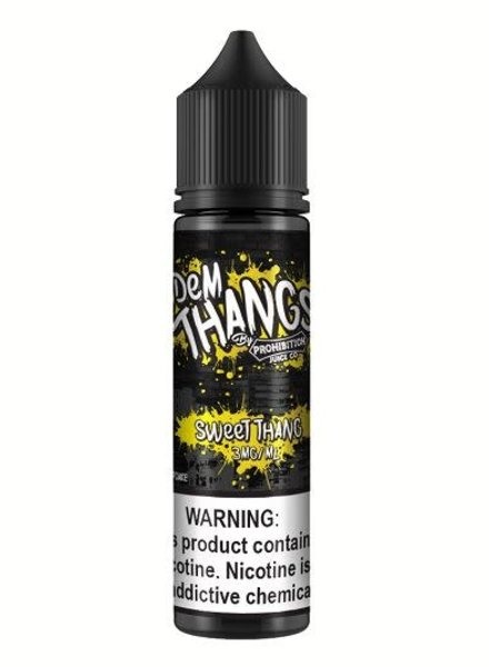 Prohibition Juice Co. Dem Thangs Sweet Thang 60ml
