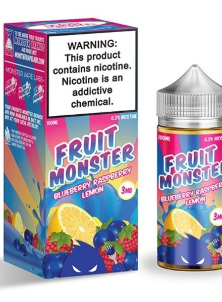 Jam Monster Liquids Fruit Monster Blueberry Raspberry Lemon 100ml