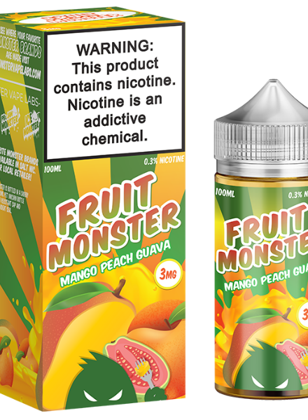 Jam Monster Liquids Fruit Monster Mango Peach Guava 100ml