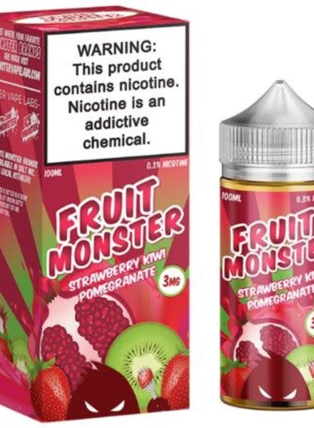 Jam Monster Liquids Fruit Monster Strawberry Kiwi Pomegranate 100ml